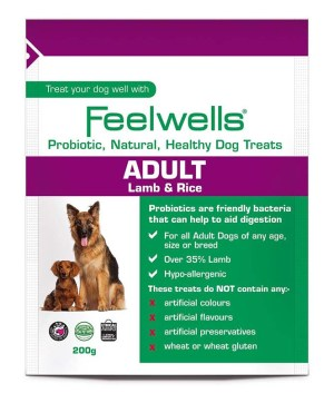 Feelwells Probiotic Treats Adult 200g