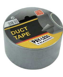 Duct Tape 48mm x 10 metre Silver Payless