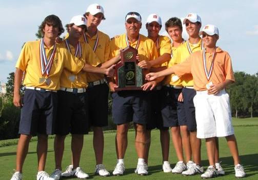 Florida high school golf state champs