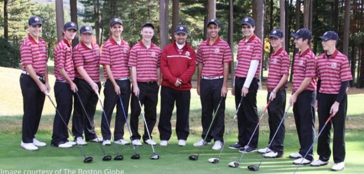 Boston College High School team