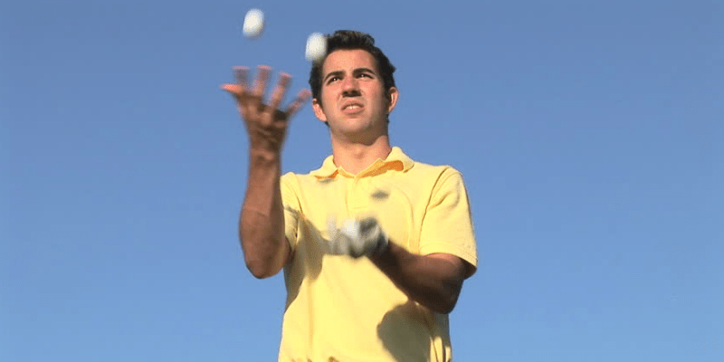 golfers hand-eye coordination