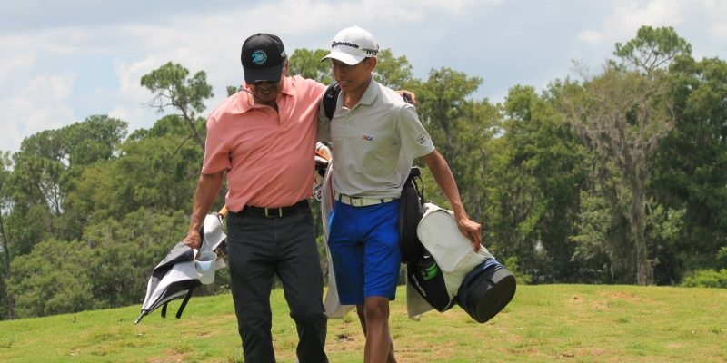 Aidan and his dad