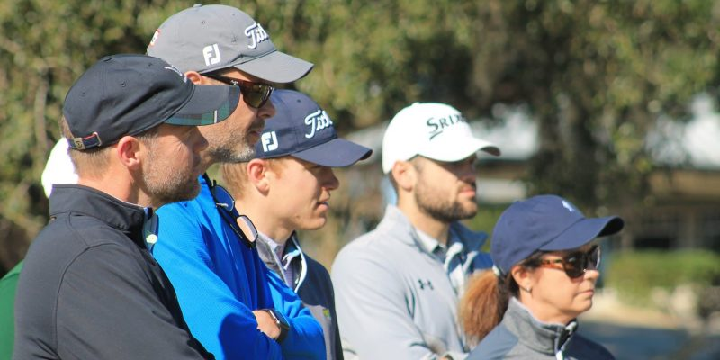 Coaches Looking On