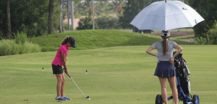high school golf qualifying procedures