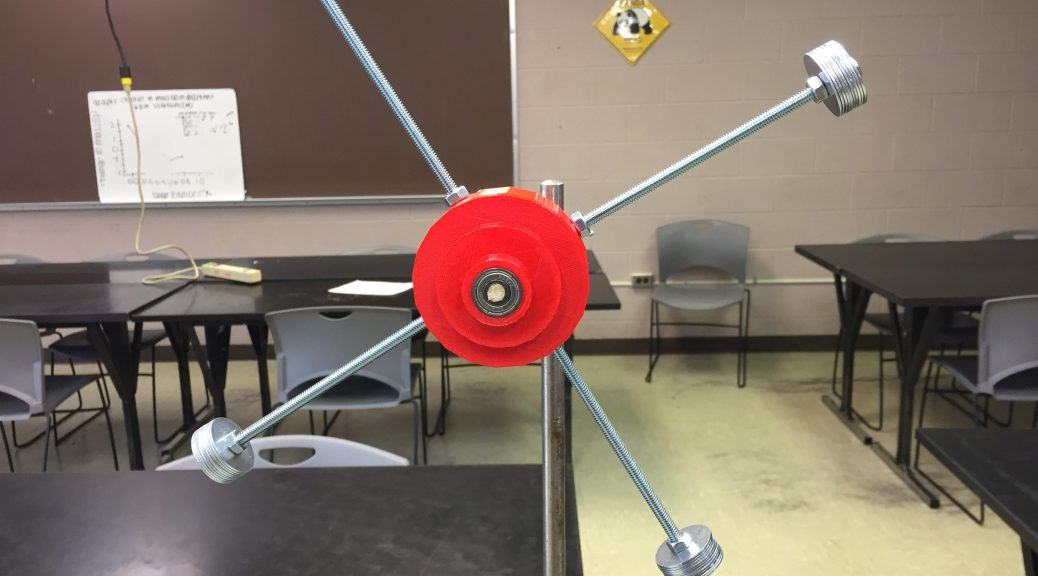 3D Printed Rotational Motion Apparatus
