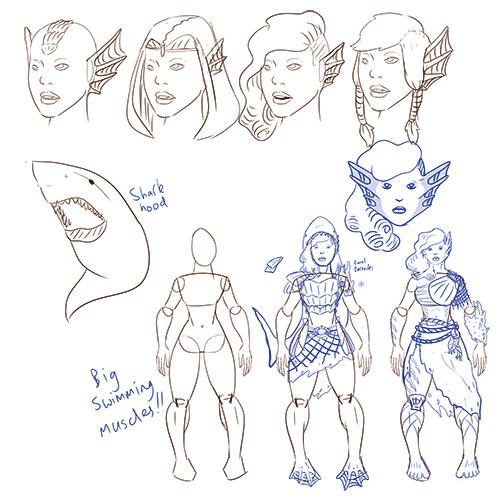 1128-feloren-tritonbarbarian-sketches
