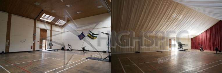 Sports Hall Decor