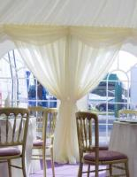 Marquee window drapes
