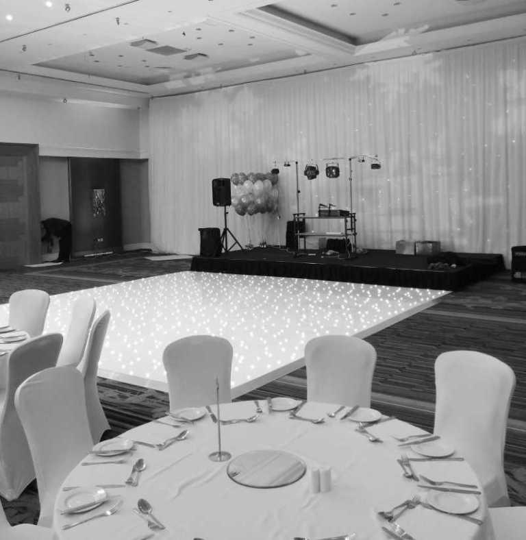 LED Dancefloor for Hire
