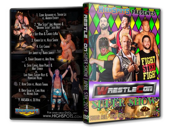 WrestleCon 2014 Super Show DVD-R