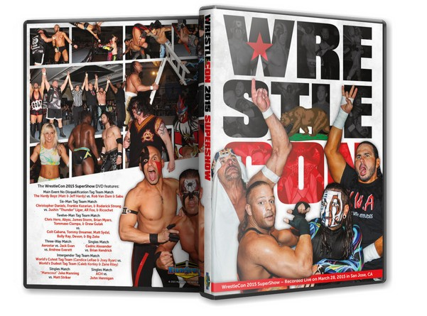 WrestleCon 2015 Super Show DVD
