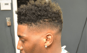 box haircut 10 fade