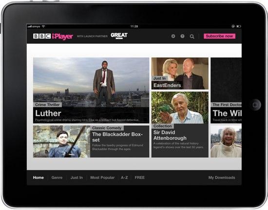 iPlayer BBC global