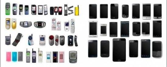 Mobiltelefone vor dem iPhone und seitdem