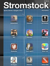 Stromstock iPad Magazin