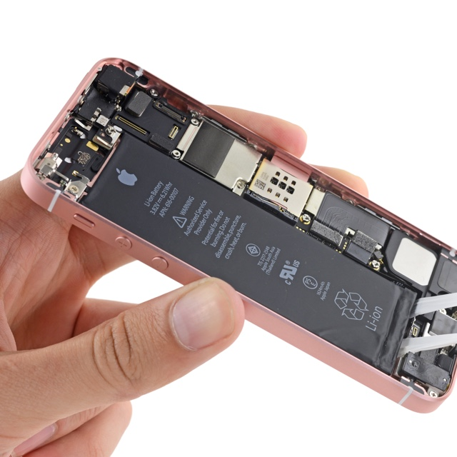 iFixit-iPhone-SE-Battery