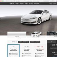 Tesla Model S bestellen