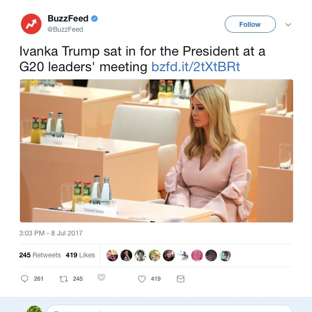 G20 Ivanka Trump