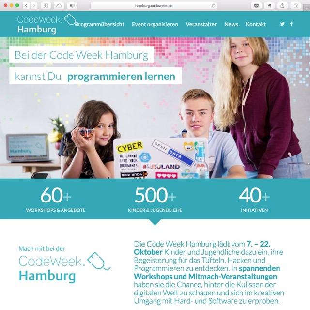 Code Week Hamburg 2017
