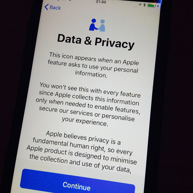 apple data privacy