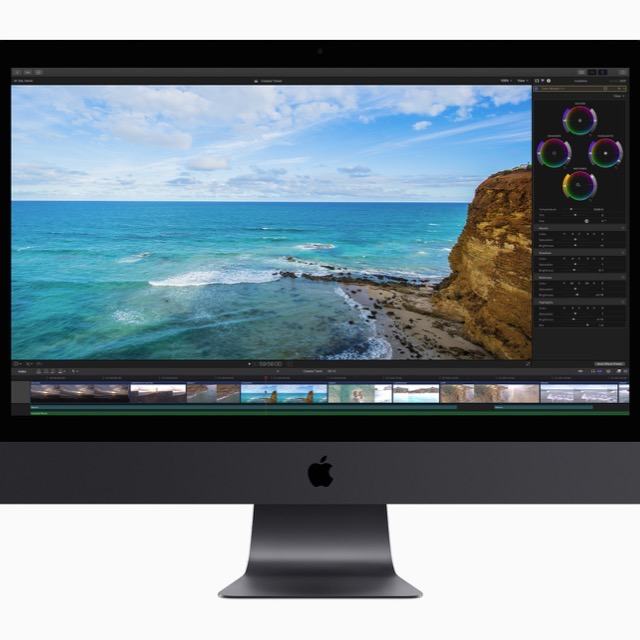 Final Cut Pro auf dem iMac Pro