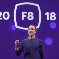 Mark Zuckerberg bei der Facebook F8 2018