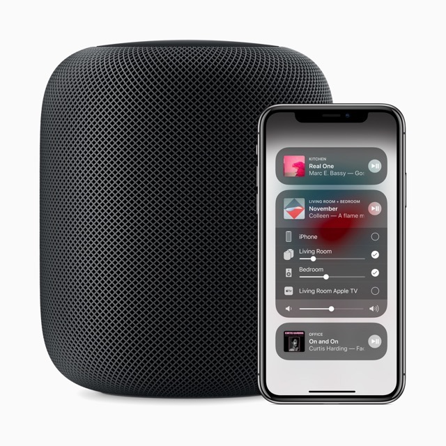 Apple HomePod mit iOS 11.4 auf iPhone X