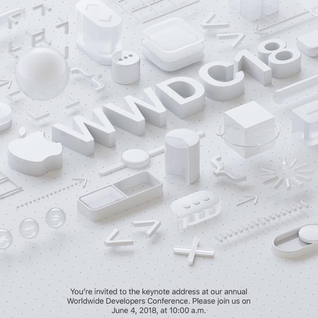 WWDC 2018 Keynote bestätigt