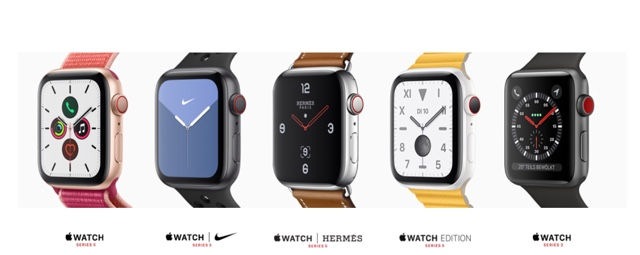 Apple Watch Series 5 plus 3