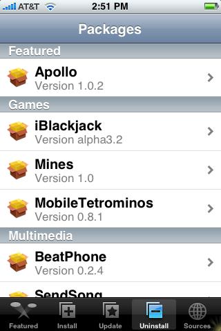 AppTapp Uninstall