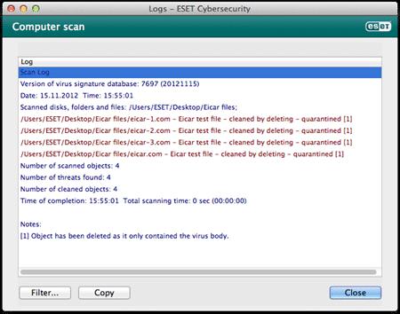 Mac_On-Demand scan detection log