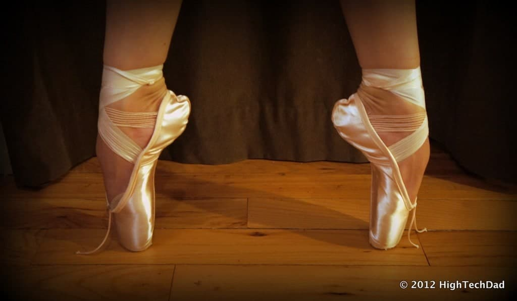 Why and How Ballerinas Break In Ballet Pointe Shoes