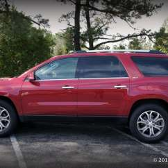 Gmc Acadia With Captains Chairs Rocking Chair Cane Seat Repair Comfortable, No-frills, Good Performing, Family Suv - 2013 Review Hightechdad™