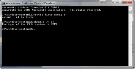 Disable CHKDSK at next reboot