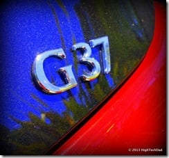 G37 Emblem - 2013 Infiniti G37 IPL convertible