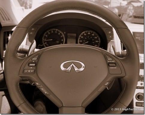 Steering Wheel - 2013 Infiniti G37 IPL convertible