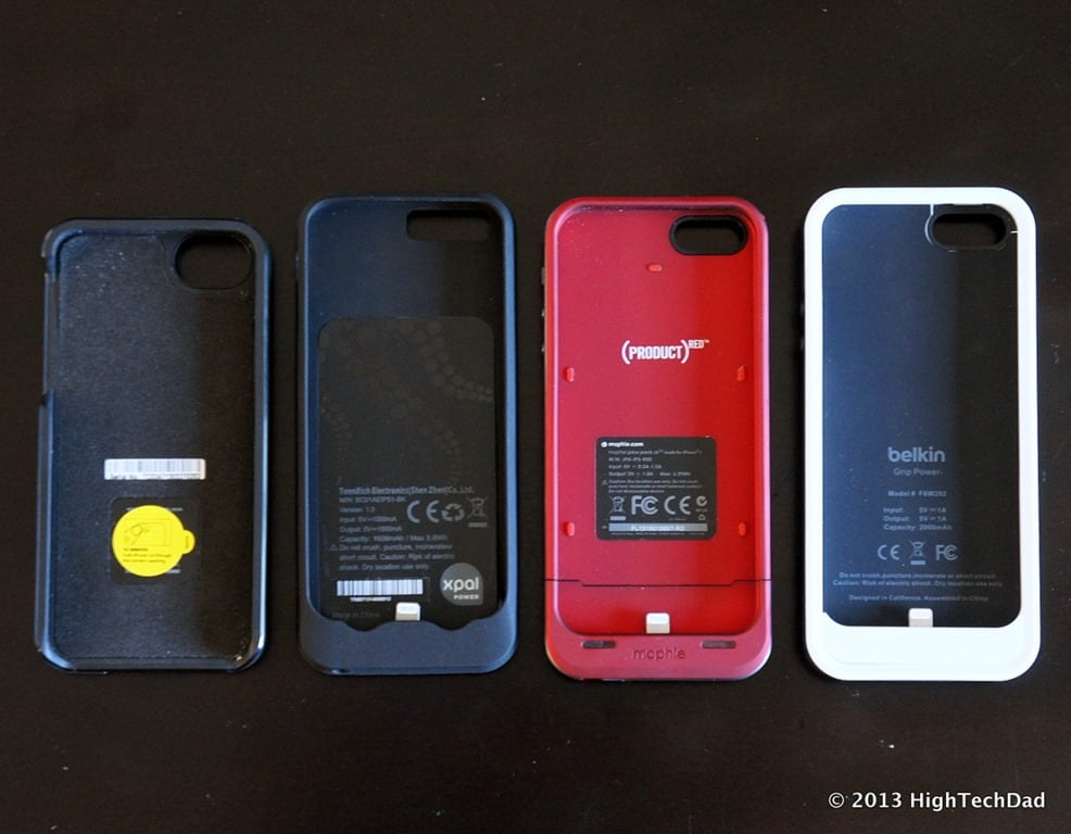 designer fashion 5695f f1899 Head-to-Head: 4 iPhone 5 Battery Cases Reviewed - Mophie, Belkin ...