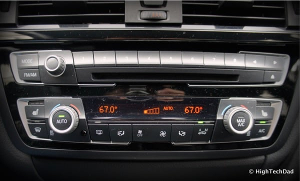 2015 BMW M3 - Climate and Audio Controls