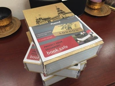 HTD's Cell Phone Book Safe - book safe