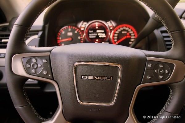 Denali - Where are the Volume Controls?