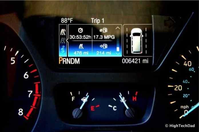 2015 Ford Transit Wagon XLT - Dashboard