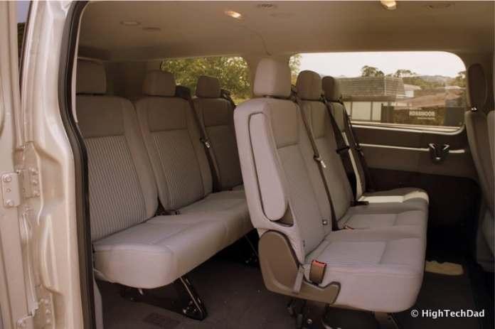 2015 Ford Transit Wagon XLT - Rear seating