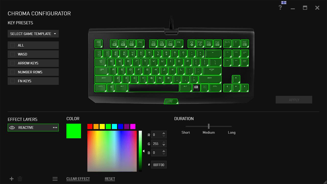Non-Gamer Review: Razer BlackWidow & Deathstalker keyboards