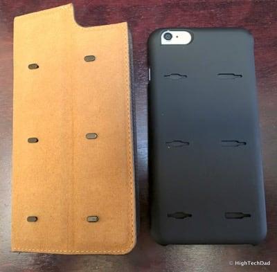 HTD Twelve South BookBook iPhone Case - hooks on back