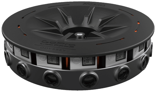 GoPro solution for VR filming