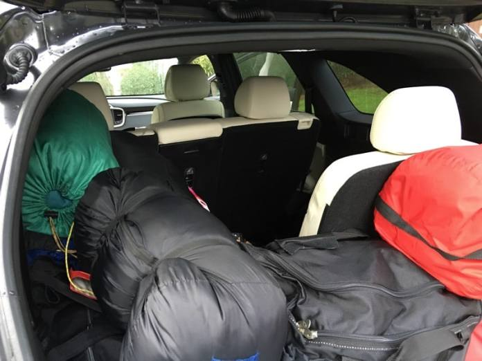 HTD 2016 Kia Sorento - rear seat