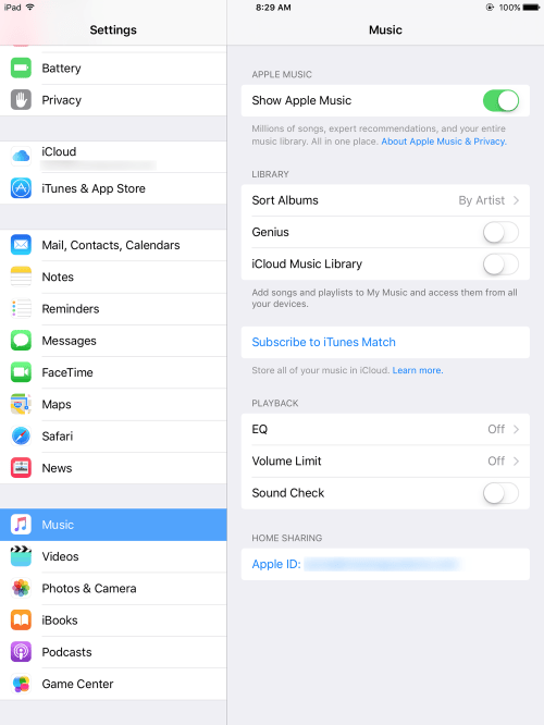 HTD Bulk Delete Music from iOS - iCloud Music Library off