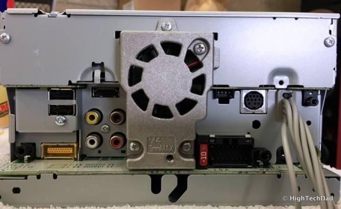 Pioneer AVH-4100NEX Review - rear inputs