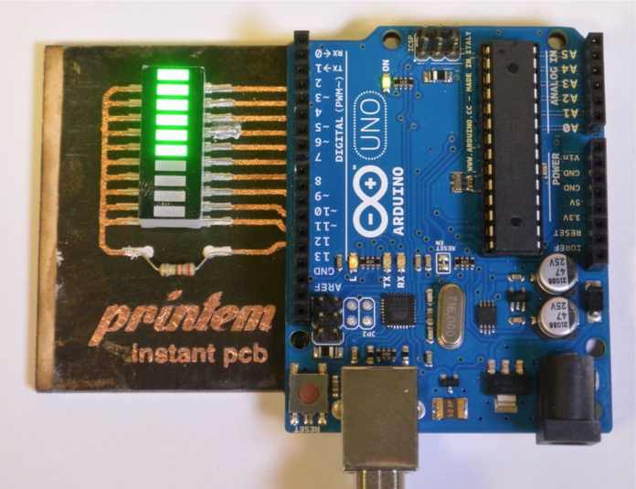 Printem - attached to an Arduino