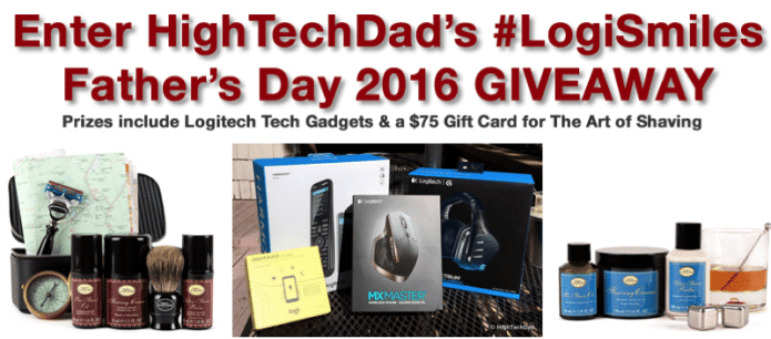 HighTechDad #LogiSmiles Father's Day Giveaway -